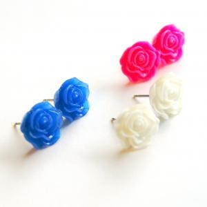 Summer Flower Post Earring Set